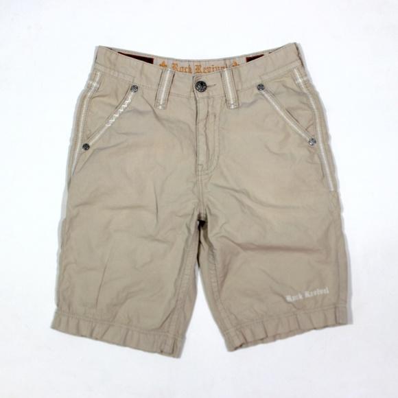 Rock Revival Other - Rock Revival Cargo Shorts Slim Fit Embellished